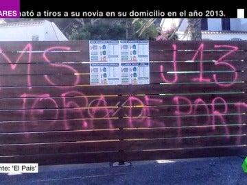 Pintadas, sabotajes y excrementos para protestar contra los que investigan el referéndum del 1-O en Cataluña