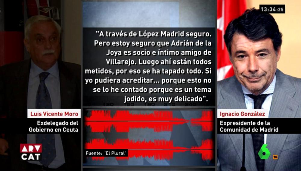 Grabaciones a Ignacio González