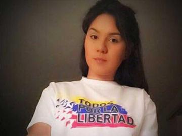 La opositora venezolana Steicy Escalona
