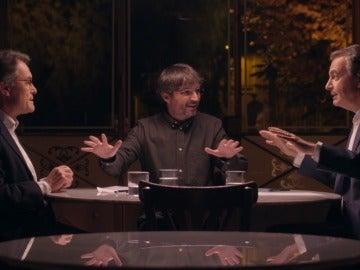 Cara a cara entre Zapatero y Artur Mas
