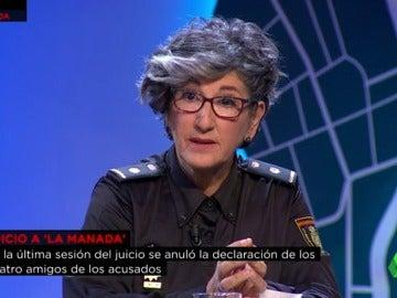Elena Palacios, inspectora jefe de Atención a la Familia y Mujer (UFAM)