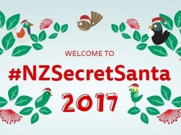Logo de la iniciativa #NZSecretSanta