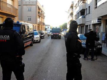 Imagen de archivo de los Mossos d'Esquadra en Barcelona