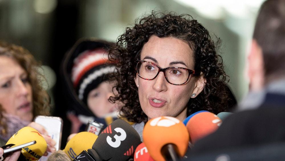La secretaria general de ERC y número dos en la lista por Barcelona, Marta Rovira