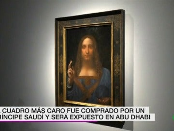 'Salvator Mundi', la obra más cara de la historia