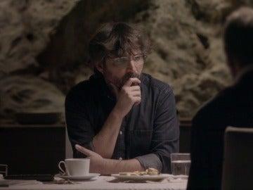 Jordi Évole con Javier