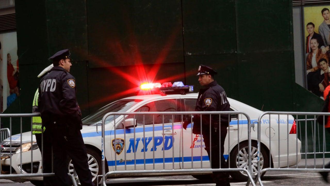 Agentes de Policía en Nueva York