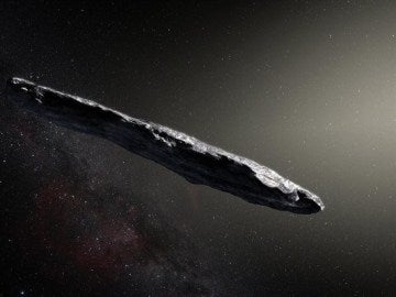 Oumuamua, primer asteroide interestelar