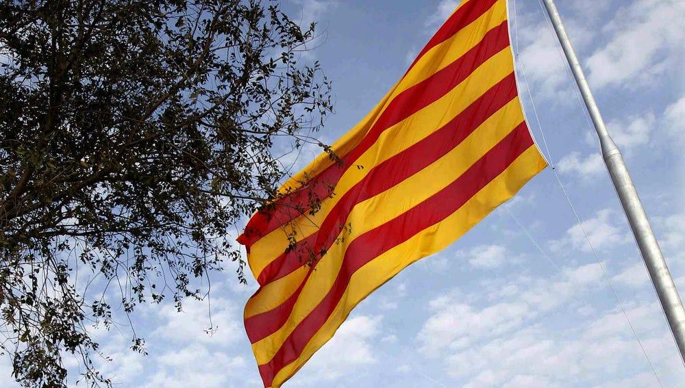 La bandera catalana