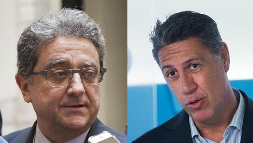 Enric Millo y Xavier García Albiol