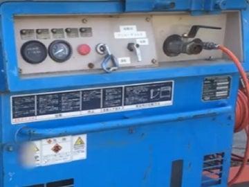 Un compresor de aire