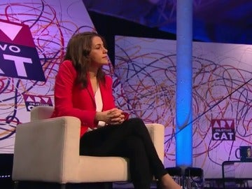 La líder de Ciudadanos en Cataluña, Inés Arrimadas