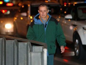 Jordi Pujol Ferrusola tras salir de la cárcel