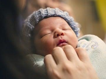Foto de un recién nacido