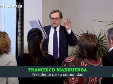 Francisco Marhuenda durante las Campanadas