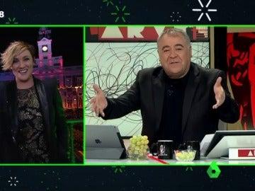 Antonio García Ferreras en el especial de Nochevieja