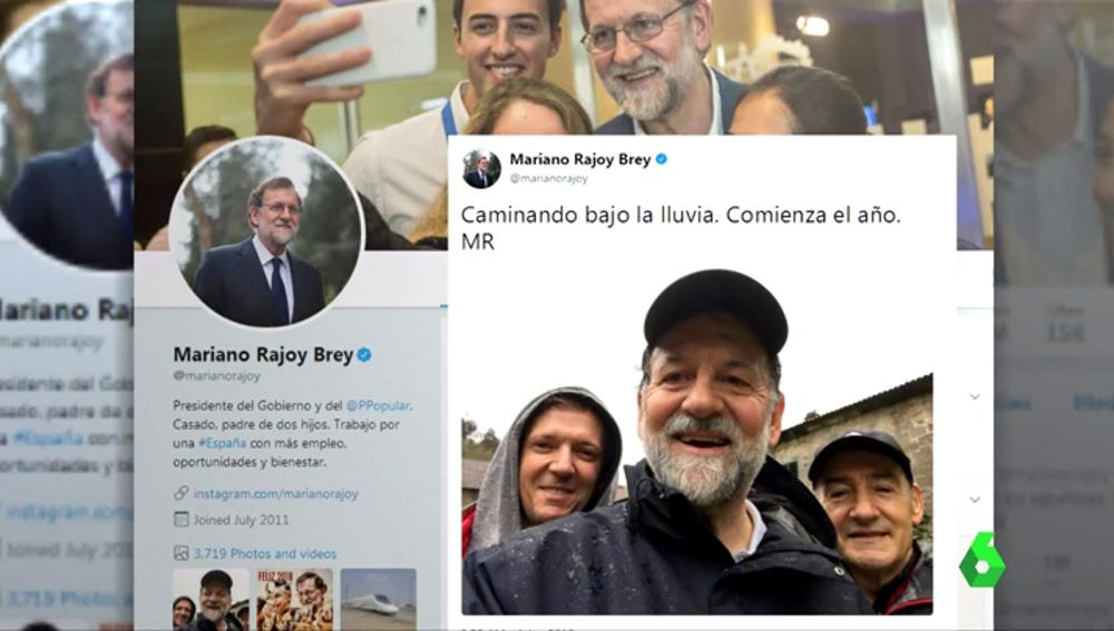 El tuit de Mariano Rajoy