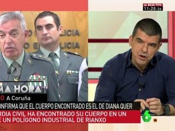 La Guardia Civil da una rueda de prensa para esclarecer los detalles del caso de Diana Quer