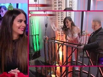 Cristina Pedroche y Josie desvelan lo que no se vio en televisión de los espectaculares looks de las Campanadas 2017