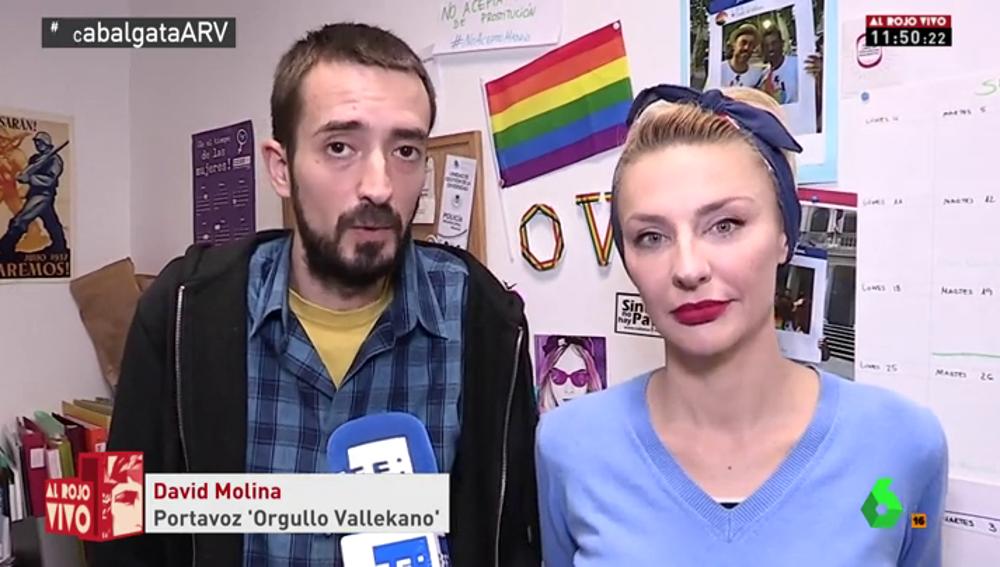 Los organizadores de la carroza de 'Orgullo Vallekano'