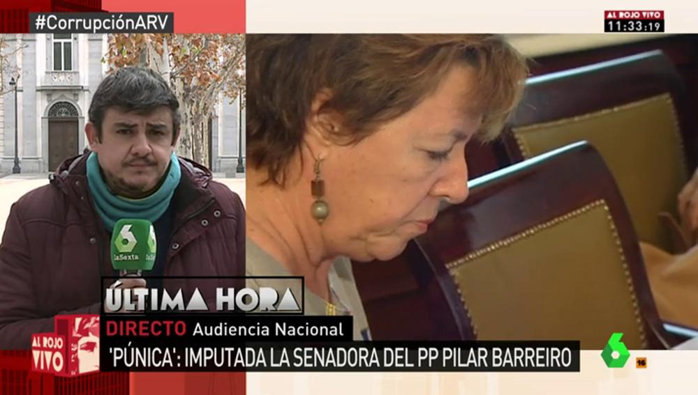 Imputada la senadora del PP Pilar Barreiro