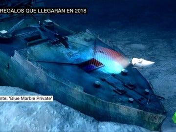 Las expediciones a los restos del Titanic durarán diez horas