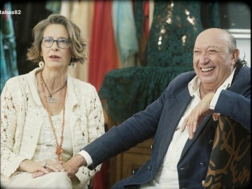 Paola Dominguín y Francis Montesinos