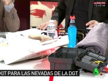 El kit para las nevadas que propone la DGT