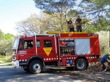 Servicio tarraconense de bomberos, en una imagen de archivo