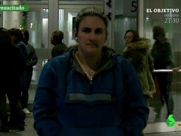 Catia Tarancón, la mujer del preso 'resucitado'