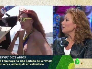 Teresa Viejo, exdirectora de 'Interviú'