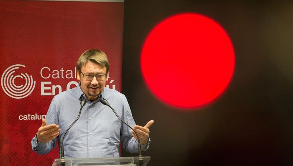 El líder de los 'Comunes', Xavier Domènech