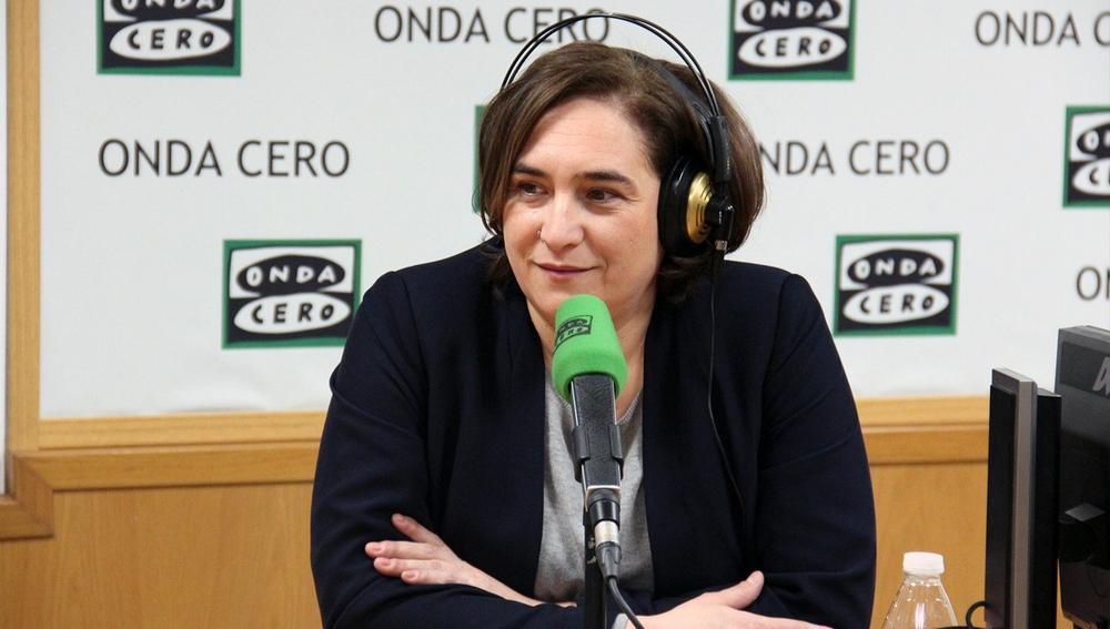 Ada Colau en Onda Cero Barcelona
