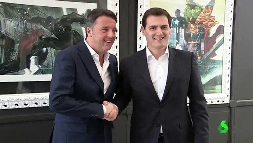 Rivera y Renzi se unen contra los nacionalismos en la Unión Europea