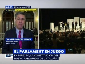 Xavier García Albiol, en Espejo Público