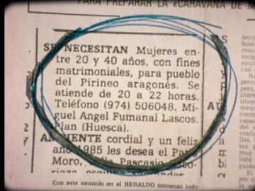 Anuncio en 1985