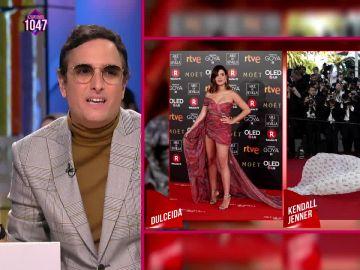 """La crítica de Josie al look de """"AliExpress"""" de la """"influencer"""" Dulceida en los Goya"""