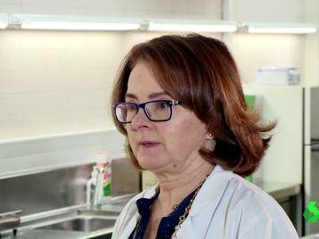 Olga Larriba, forense
