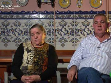La madre y el padre de Roberto Larralde