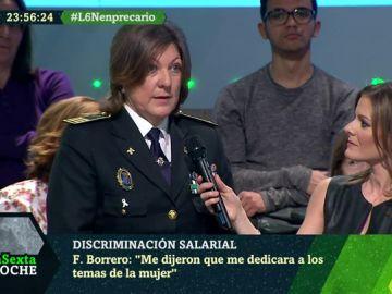 Francisca Borrego, inspectora jefa de Almonte