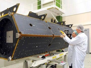 Imagen de archivo facilitada por la ESA del satélite Paz