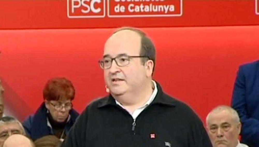 Primer Secretario del PSC, Miquel Iceta