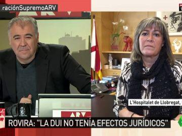"""Núria Marín: """"Lo importante es que en Cataluña se garantice que los niños salgan con dominio de catalán y castellano"""""""