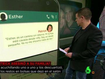 Los mensajes de Patrick Nogueira desde Brasil