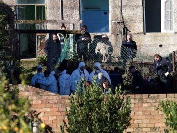 La Policía Nacional y la Guardia Civil registran una vivienda en Pontevedra en busca de Sonia Iglesias