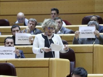 Senadores de ERC piden la libertad del rapero Valtonyc