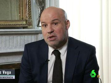 El portavoz de Jueces para la democracia, Ignacio González Vega