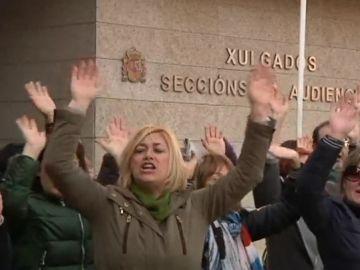 Manifestación en Galicia
