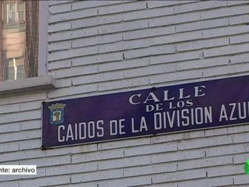 Calle de los caídos de la División Azul