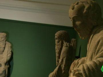 Las esculturas propiedad de la familia Franco